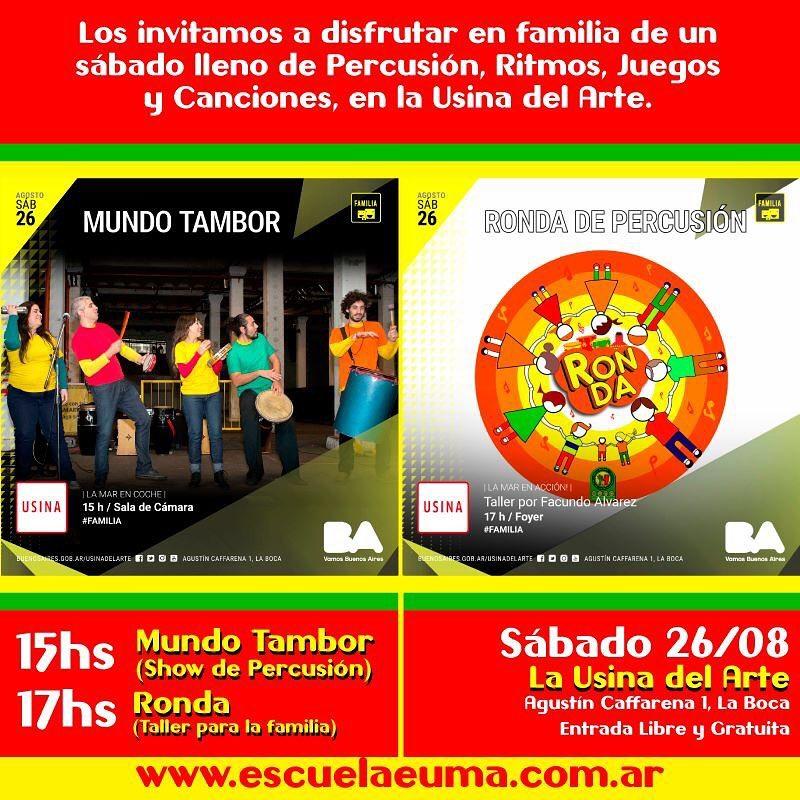 Lleg el da nomas!!! !!!!HOY GRAN FESTIVAL DE PERCUSION PARAhellip